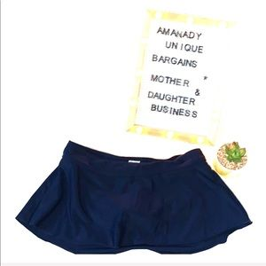 👒 Merona Bikini skort navy blue 👒